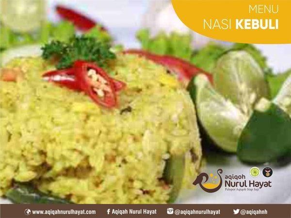 Paket Aqiqah Jakarta Pusat Nurul Hayat Menu Nasi Kebuli