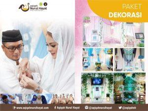 Paket Aqiqah Jakarta Pusat Nurul Hayat PAket Dekorasi
