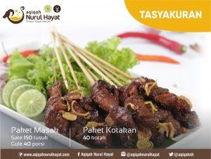 Paket Aqiqah Jakarta Pusat Nurul Hayat Tasyakuran
